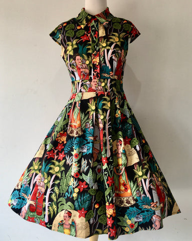 Tyler Frida Kahlo Dress
