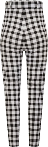 Jane Vintage Gingham Trousers