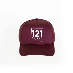 the journey trucker maroon