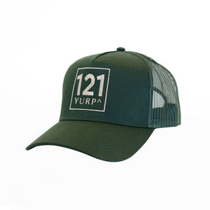 the journey trucker cap forest