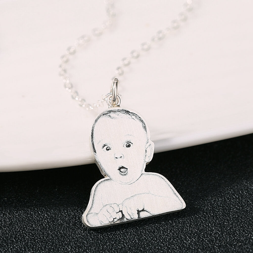 hair first jewelry of lock keepsake memorial miscarriage baby necklace pendant store curl