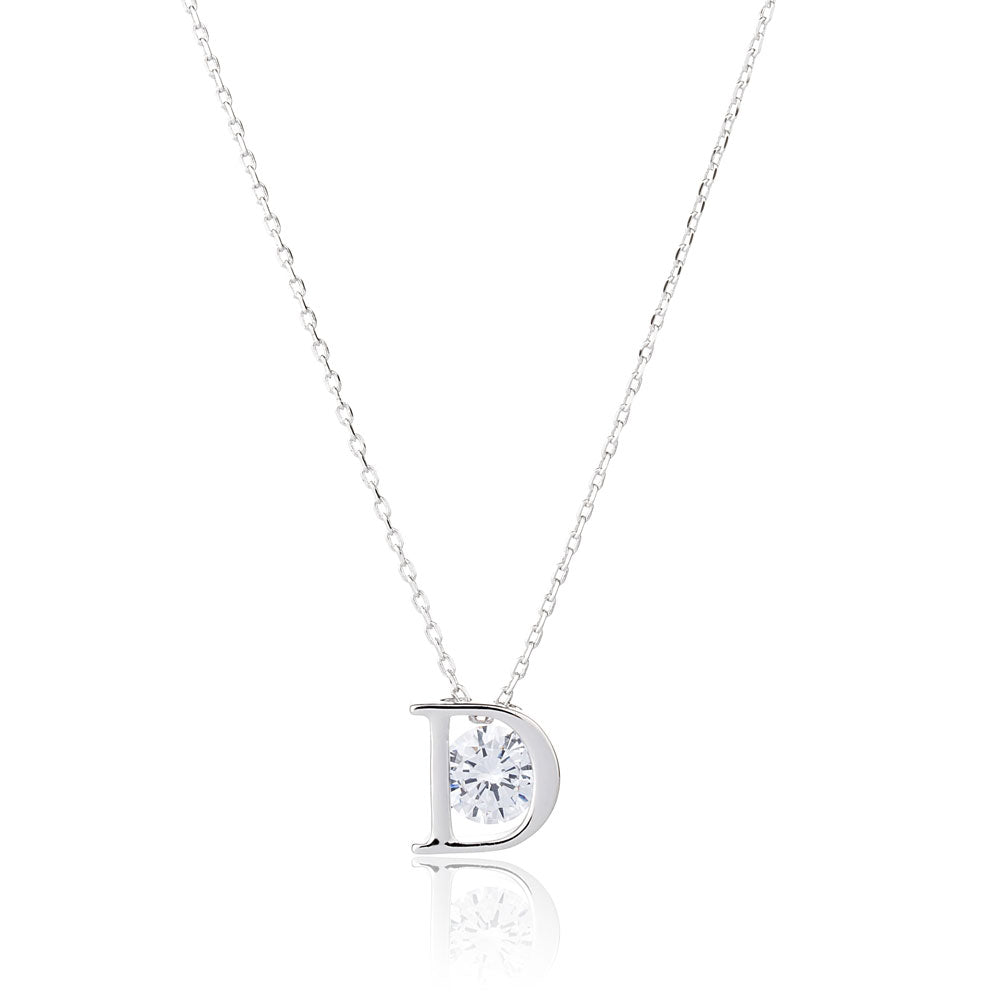 D Word Crystal Necklace