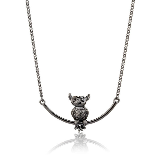 3D Owl Necklace