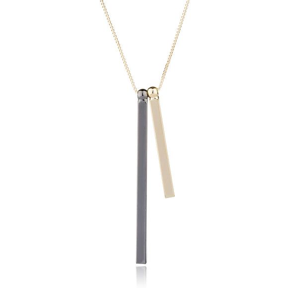 Bar Stamement Necklace Simple Pendant Necklaces