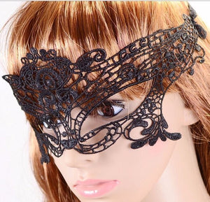 Eyeshade Adult Sexy girl Lingerie cosplay Game Lace Mask Goggles Role masquerade
