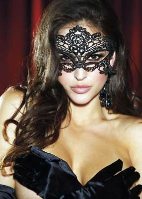 Sexy Embroidered Tie Back Venice Masquerade Ball Mask Lingerie Adult Women