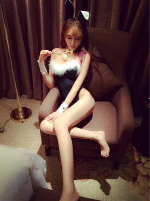 Adult Girl Sexy Women Bunny Rabbit Costume Lingerie Cosplay Babydoll Outfit Play