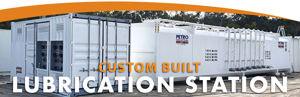 Custom Built Lubrication Station for Vehicles on a Mining Site