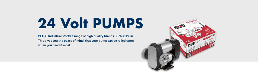 24V fuel transfer pumps - Diesel Pumps by PETRO Industrial