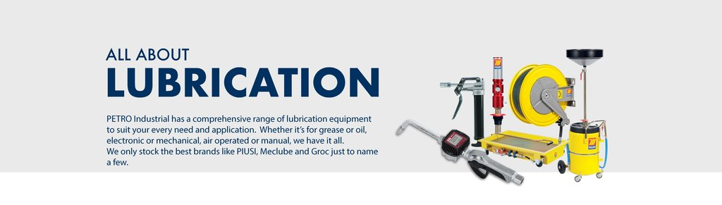 Lubrication Equipment and Accessories - Meclube, Groz & more!