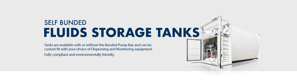 Self Bunded Fuel Tanks For Sale - PETRO Industrial