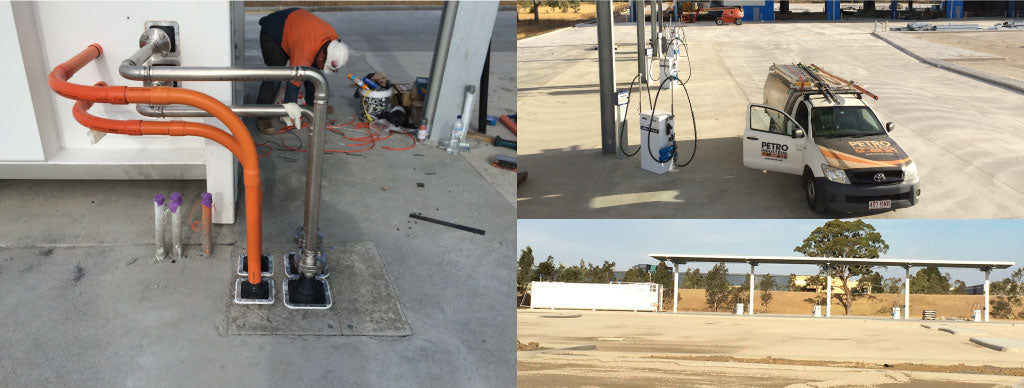 PETRO Industrial above ground Re-Fuelling Station installation at Cleanaway