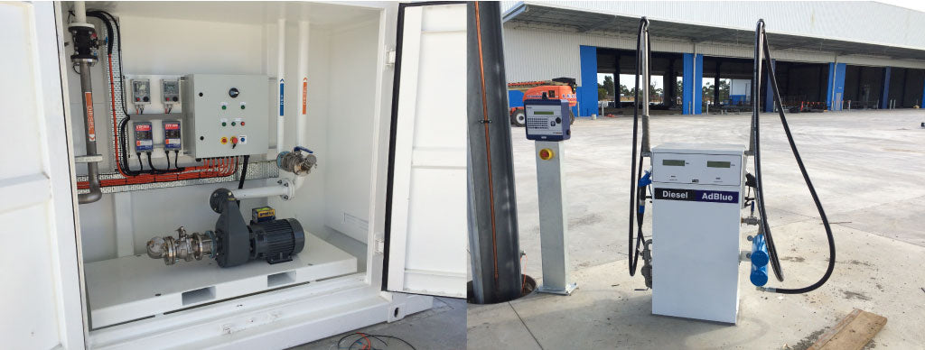 PETRO pump bay an dispenser with fuel management system
