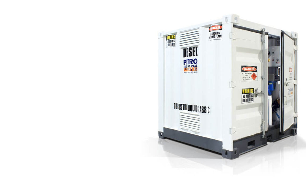 Dangerous Goods Storage - DG Stores by PETRO - Self Bunded Tank Range
