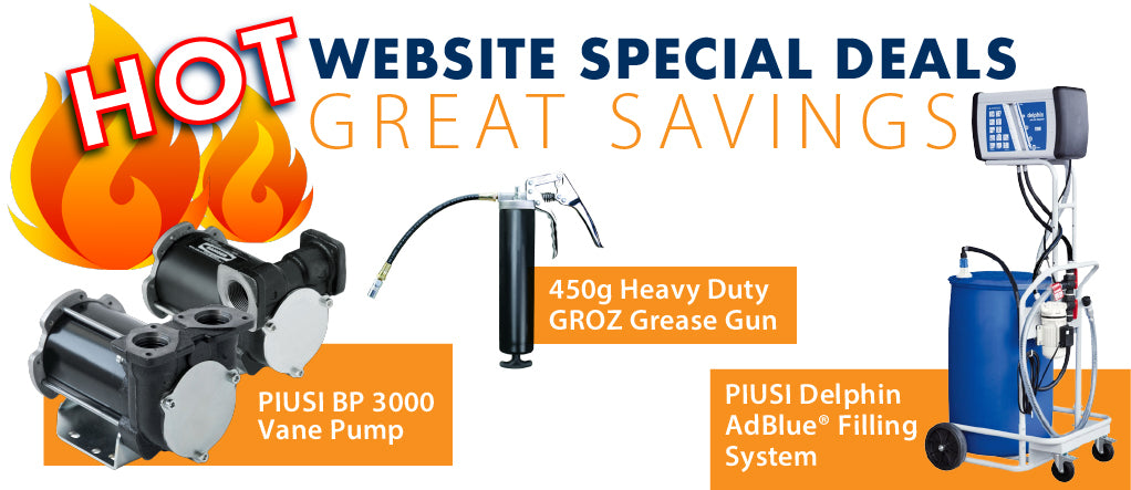 HOT website special deals from PETRO Industrial