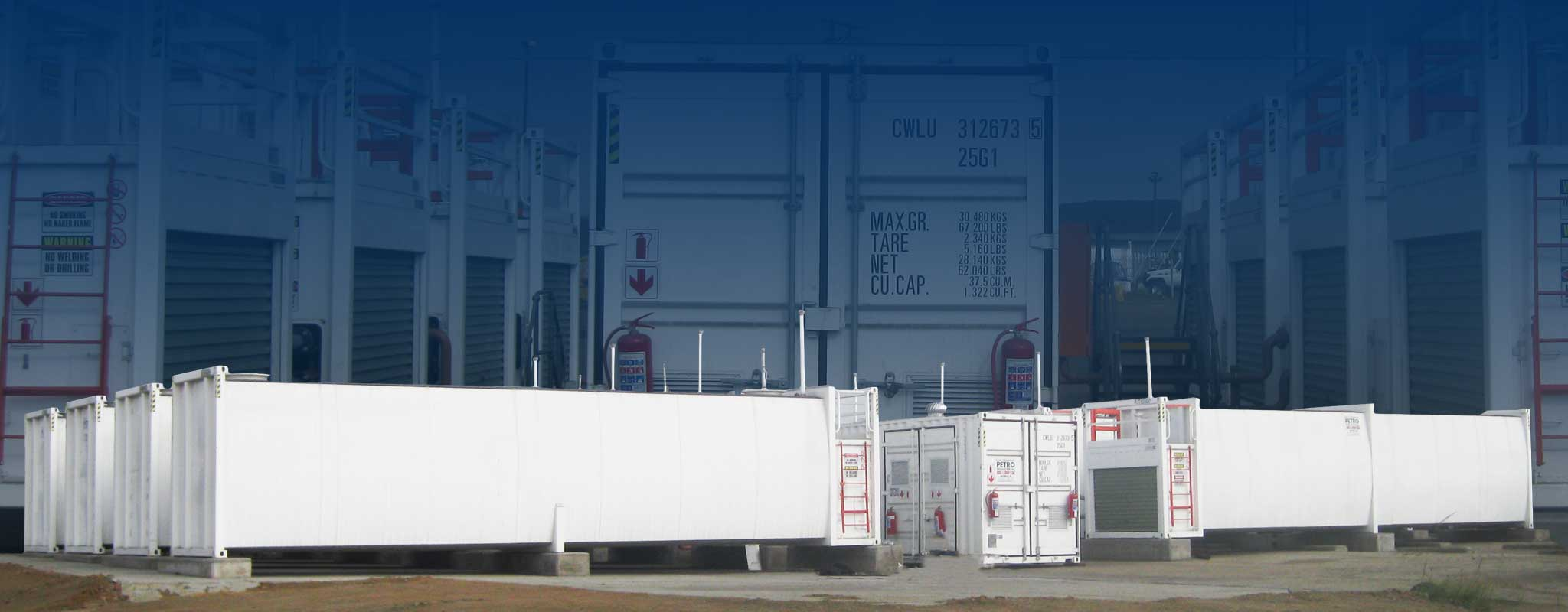 PETRO Industrial bulk fuel farms and self bunded tanks