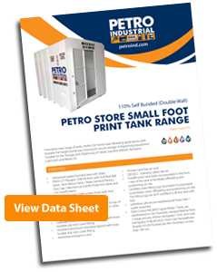PETRO Stores Self Bunded Tank Data Sheet