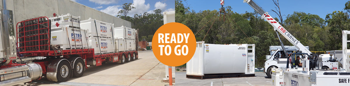 PETRO Industrial Tanks are loaded and ready for delivery