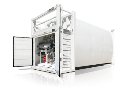 Self bunded fuel tanks for sale - PETRO Industrial's premiere line of containerised double wall fuel tanks