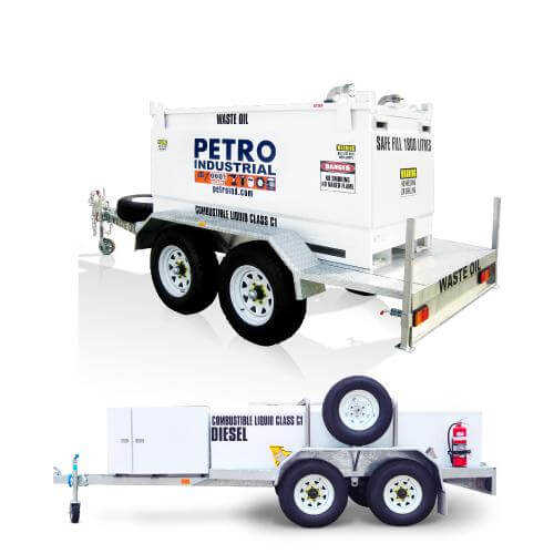 Self Bunded Tank Trailers - Double Wall Fuel Trailers