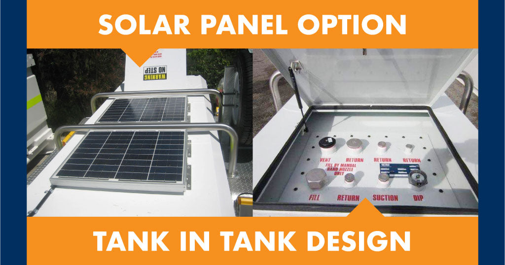 Solar Powered Pumping Equipment on Self Bunded Tank Trailers