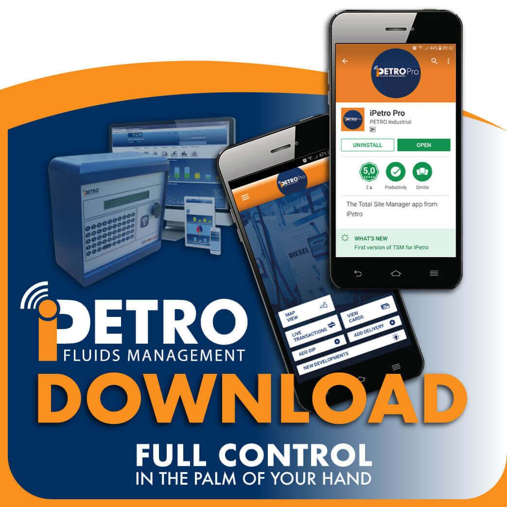iPETRO Bank Fuel management systems Downloadable App iOS and Android