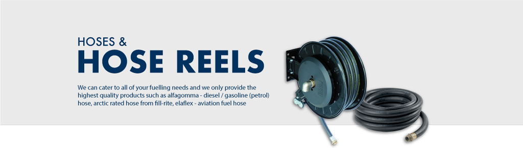 Industrial Hose Reels, Hangers and Hoses