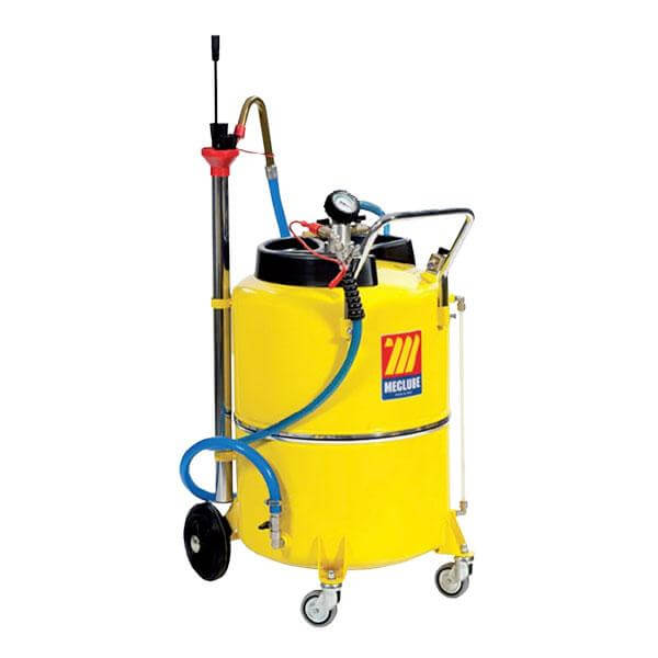 MECLUBE Waste Oil Extractor - Air Operated w/ Level Indicator