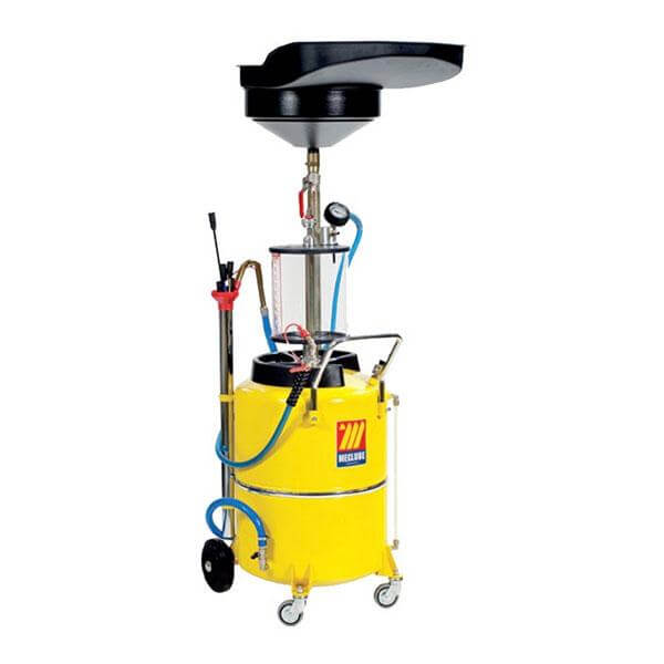 MECLUBE Waste Oil Extractor - Air Operated w/ inspection chamber