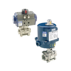 PETRO 316 SS Actuated Ball Valves - Full Bore Scr BSP
