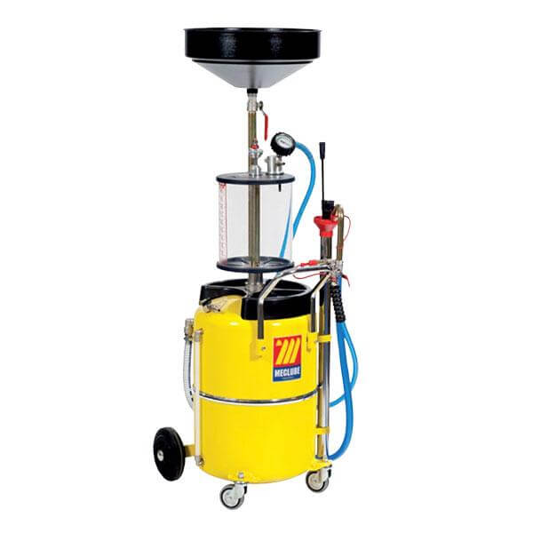 MECLUBE WASTE OIL EXTRACTOR - Air Operated w/ inspection chamber - 040-1442-000-CATA