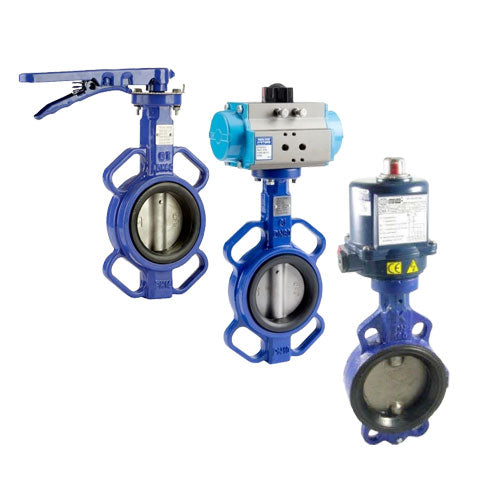 Econo Butterfly Valves T/E Manual, Air & Electric Operated - PETRO