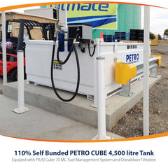 PETRO Cube 4500 Used for fuel storage at a depot