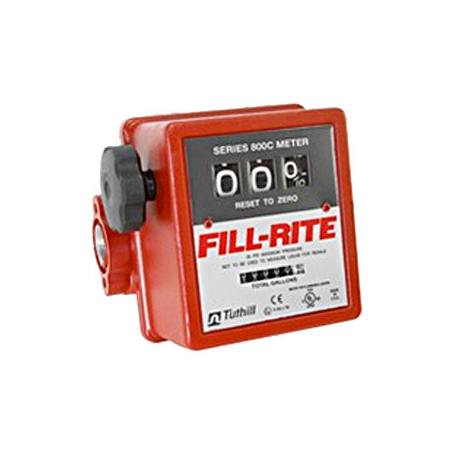 FILL-RITE 3 Digit (Wheel) Mechanical Flow Meter - PETRO