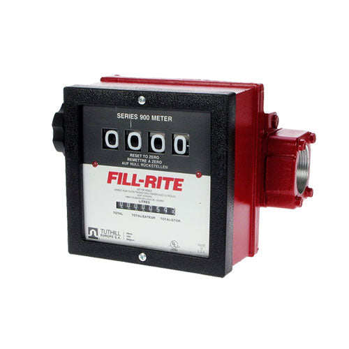FILL-RITE 4 Digit (Wheel) Mechanical Meter - 900 Series - PETRO