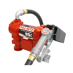 FILL-RITE FR610G Pump with Hose & Manual Nozzle - PETRO
