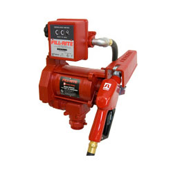 FILL-RITE FR701VA Pump with Hose, 807C Gallon Mechanical Meter & Automatic Nozzle - PETRO
