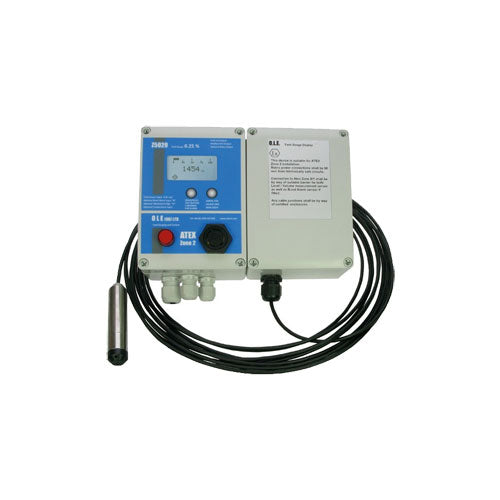 GAUGE OLE Z5020 - Tank Gauging and Monitoring with Flammable Liquids - PETRO