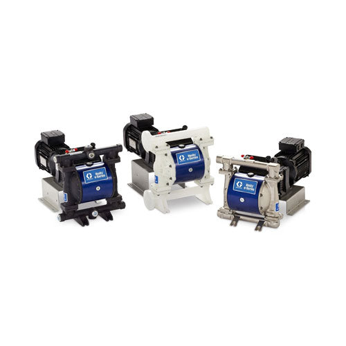 "GRACO Husky 1050E Series 1"" (DN25) Electric Operated Double Diaphragm Pump - PETRO"