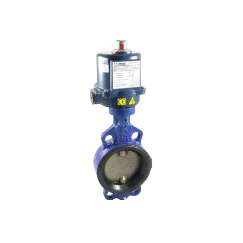 PETRO Iron Butterfly Valves Manual, Electric