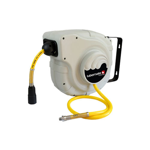 LUBEMATE Retractable Air & water Hose Reels