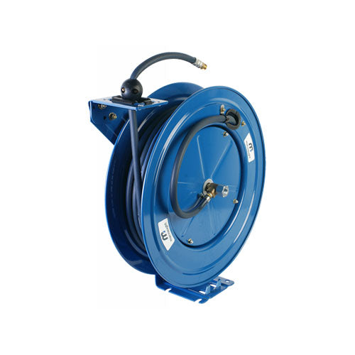 Macnaught Grease Single Pedestal Spring Rewind Hose Reel - PETRO
