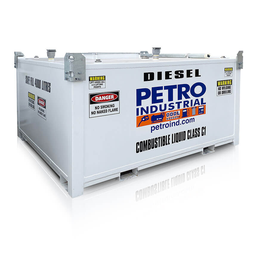 PETRO PC Cube 4000L Self Bunded bulk fuel storage Tank