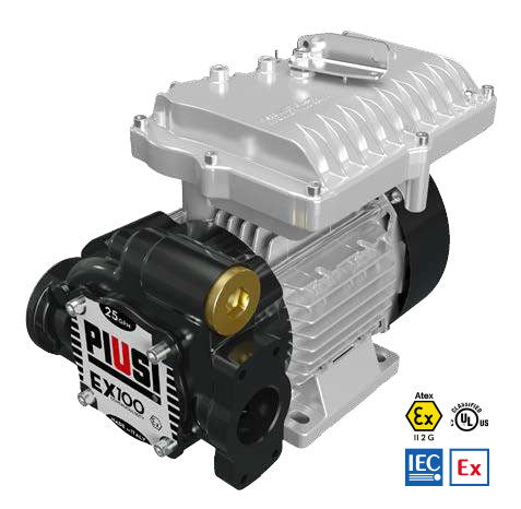 PIUSI EX100 ATEX TRANSFER PUMP- Diesel, Gasoline and Kerosene