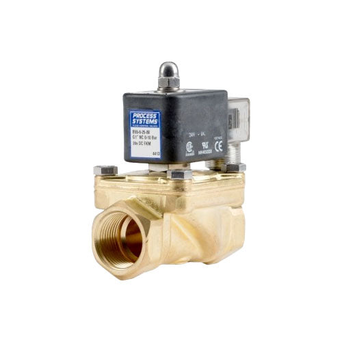 Solenoid Valve PETRO Brass Scr BSP - Normally Open or Closed Options