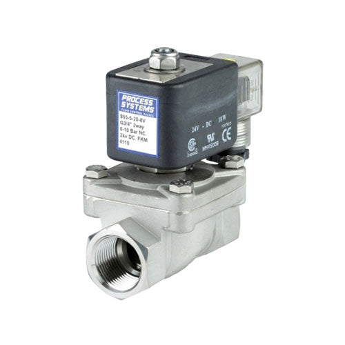 Solenoid Valve PETRO 316 SS Scr BSP - Normally Open or Closed Options