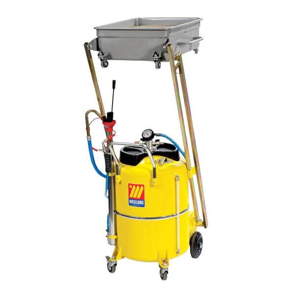 MECLUBE WASTE OIL EXTRACTOR - Air Operated c/w Pantograph - 041-1456-000-CATA