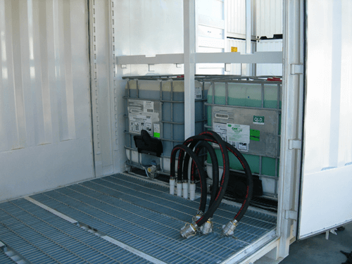Interior - Dangerous Goods Storage Containers