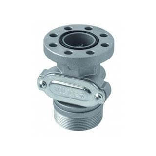 "2"" Drum Connector with integrated Valve to suit X50 / Piusi Cubes - F17163000-CATA"