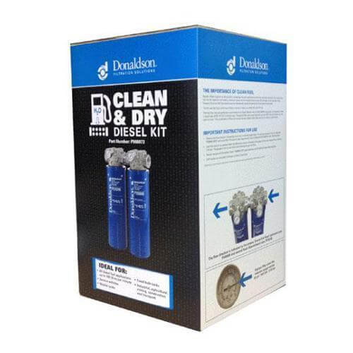 Donaldson Filter Kit - Clean and Dry Diesel Filtration Kit